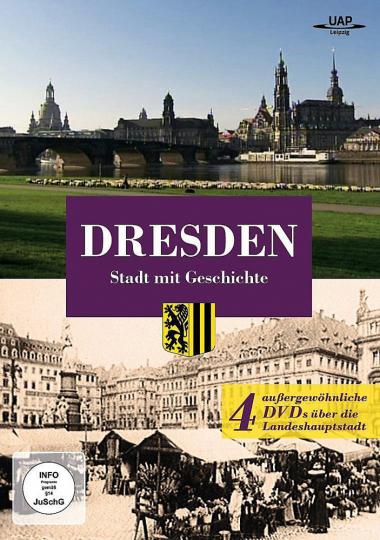 Dresden - Stadt mit Geschichte. 4 DVDs.