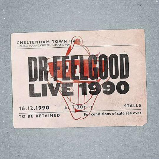 Dr. Feelgood. Live 1990 At Cheltenham Town Hall. CD + DVD.