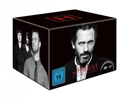 Dr. House (Komplette Serie). 46 DVDs.