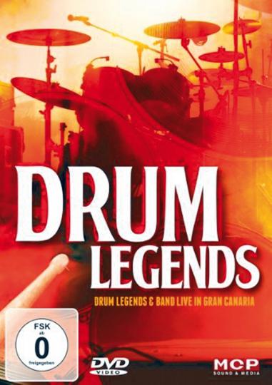 Drum Legends - Live in Gran Canaria DVD