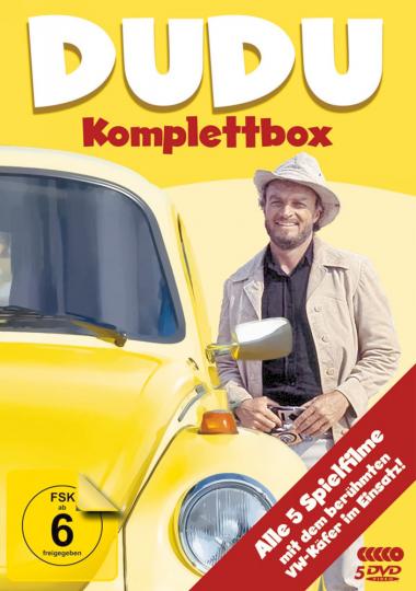 Dudu Komplettbox. 5 DVDs.