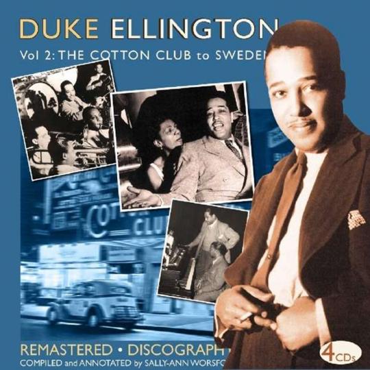 Duke Ellington. The Cotton Club To Sweden. 4 CDs.