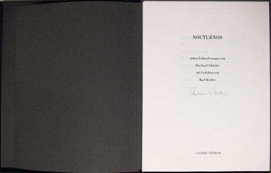 Eberhard Schlotter. Nocturnus.