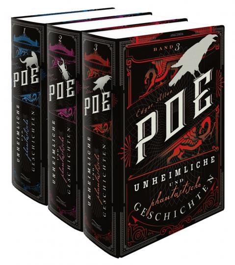 Edgar Allan Poe. Unheimliche und phantastische Geschichten. 3 Bände.