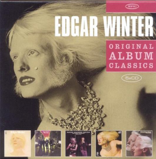 Edgar Winter. Original Album Classics. 5 CDs.