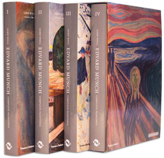 Edvard Munch. Complete Paintings. Catalogue Raisonné. 4 Bände.