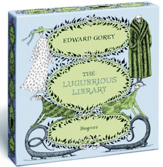 Edward Gorey. The Lugubrious Library. 10 Bände.