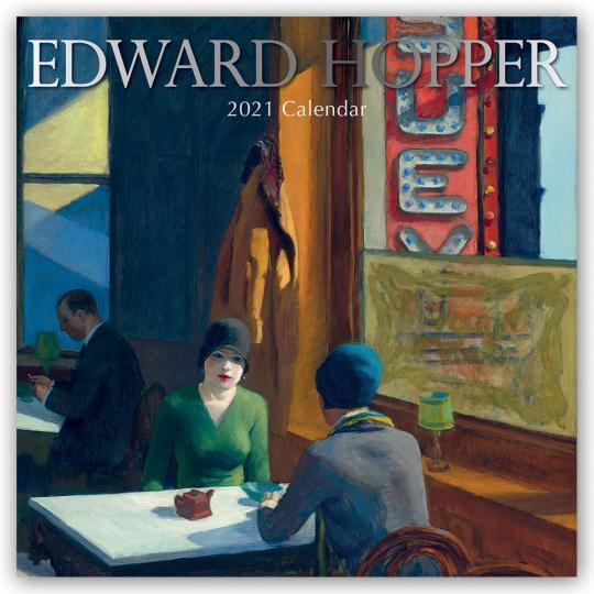 Edward Hopper. Wandkalender 2021.
