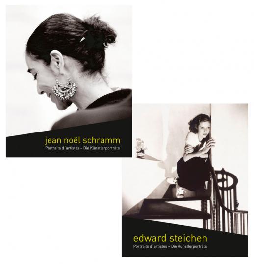 Edward Steichen und Jean Noel Schramm. Die Künstlerporträts. 2 Bände im Set.