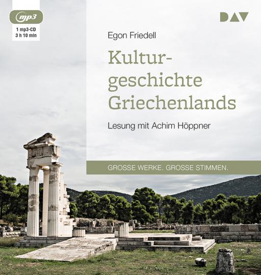 Egon Friedell. Kulturgeschichte Griechenlands. mp3-CD.