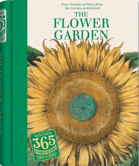 Eichstätt. Der Blumengarten. The Flower Garden. Immerwährender Kalender.