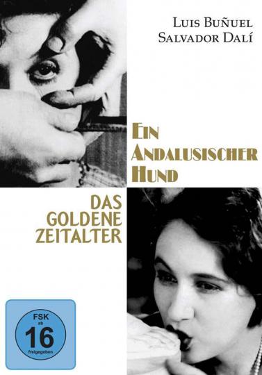 Ein andalusischer Hund/Das goldene Zeitalter. DVD.