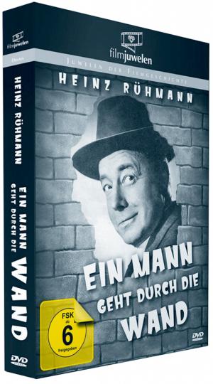 Ein Mann geht durch die Wand DVD