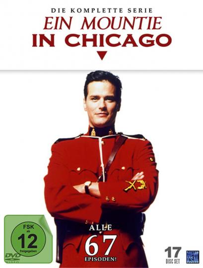 Ein Mountie in Chicago - komplett. 16 DVDs.