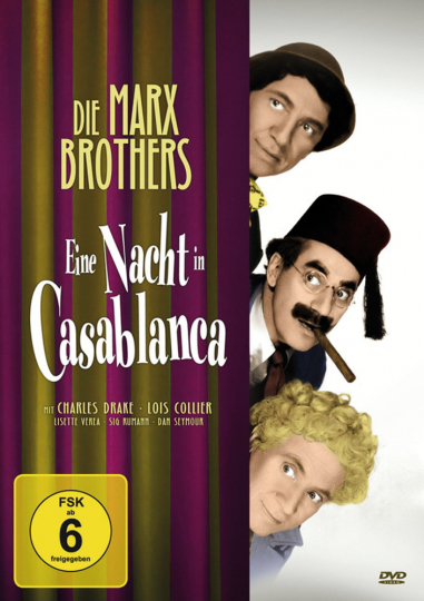 Eine Nacht in Casablanca. DVD.