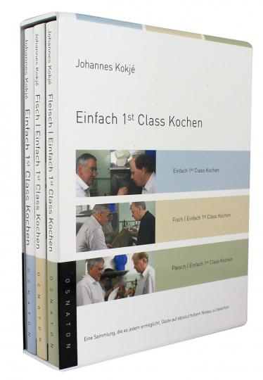 Einfach 1st Class Kochen 3 Bde. im Schuber