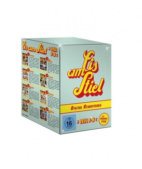 Eis am Stiel 1-8 (Digital Remastered). 9 DVDs.
