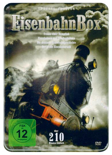 Eisenbahn-Box 4 DVDs