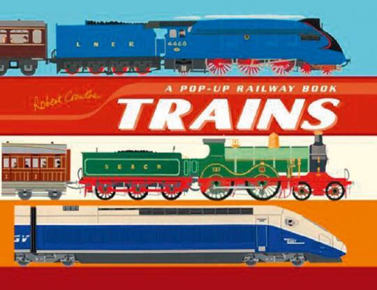 Eisenbahn Pop-up Buch. A Pop-up Book of Trains.
