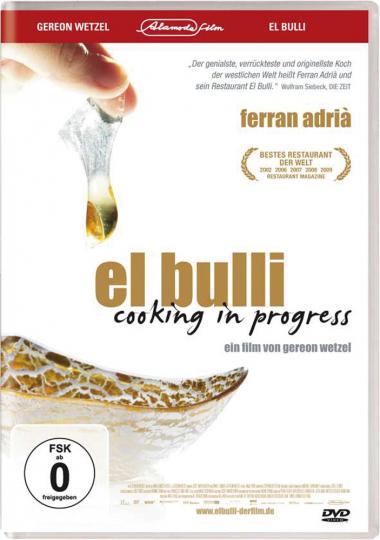 El Bulli - Cooking in Progress (OmU). DVD.