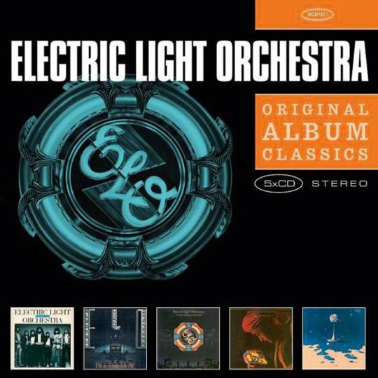 Electric Light Orchestra. Original Album Classics. 5 CDs.