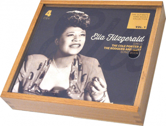 Ella Fitzgerald. Sings the Cole Porter and the Rodgers And Hart Song Books. 4 CDs.