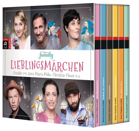 Eltern family. Lieblingsmärchen-Box. 6 CDs.