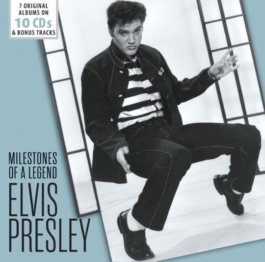 Elvis Presley. Milestones Of A Legend. 10 CDs.