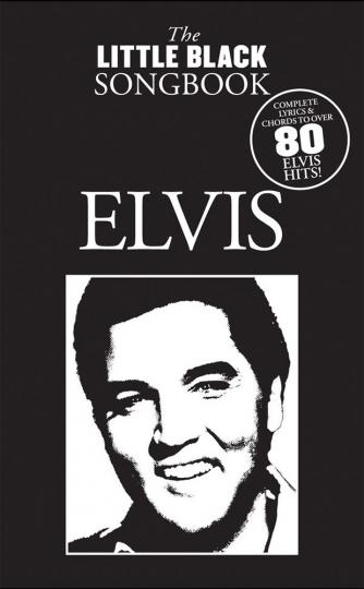 Elvis. The little black songbook. Lyrics and chrords.