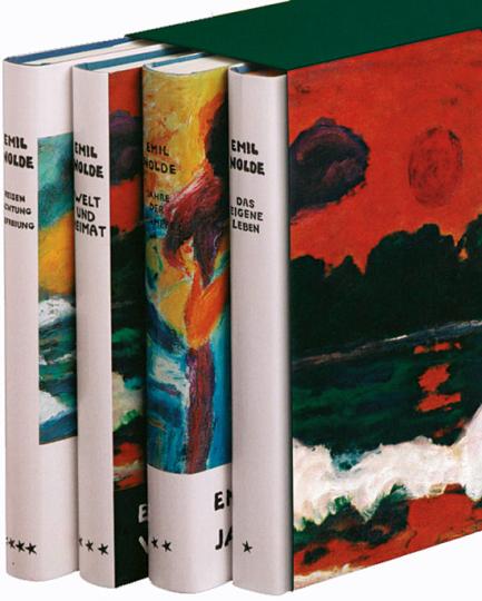 Emil Nolde: Autobiographie in vier Bänden.