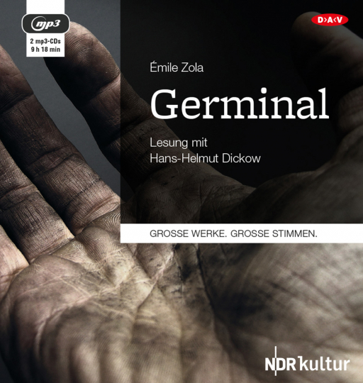 Émile Zola. Germinal. Hörbuch. 2 CDs.