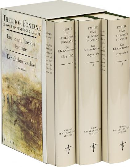 Emilie und Theodor Fontane - Der Ehebriefwechsel 1844-1898 (3 Bände).