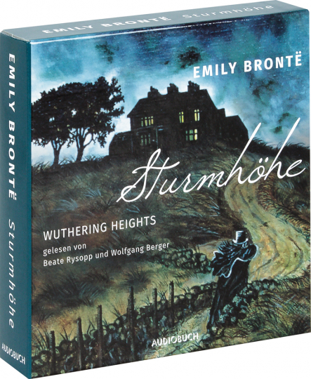 Emily Brontë. Sturmhöhe. Wuthering Heights. 12 CDs.