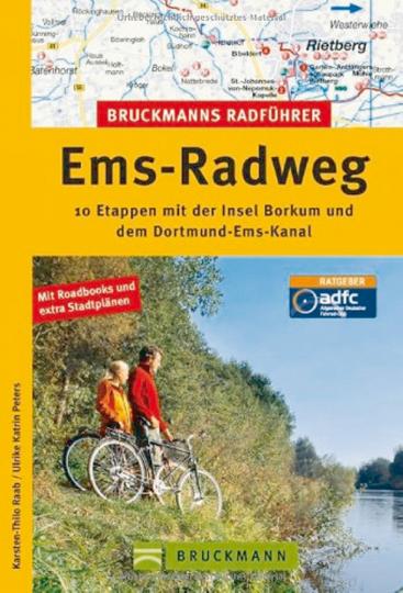 Ems-Radweg - 10 Etappen mit der Insel Borkum und dem Dortmund-Ems-Kanal