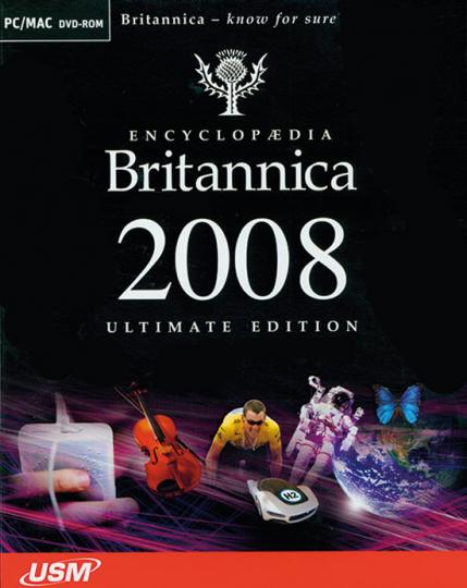 Encyclopaedia Britannica 2008. Ultimate Edition.