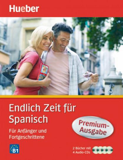 Endlich Zeit für Spanisch - Für Anfänger und Fortgeschrittene - Premiumausgabe: 2 Bücher + 4 Audio-CDs