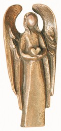 Engel des Herzens, Bronze