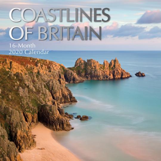 Englands schönste Küsten. Wandkalender 2020.