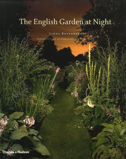 Englische Gärten bei Nacht.