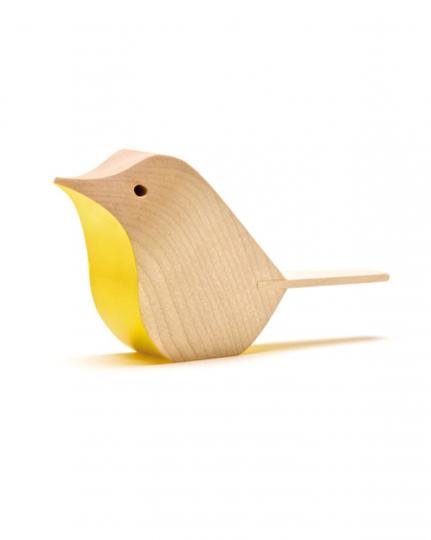 Englischer Holzvogel gelb/hell.