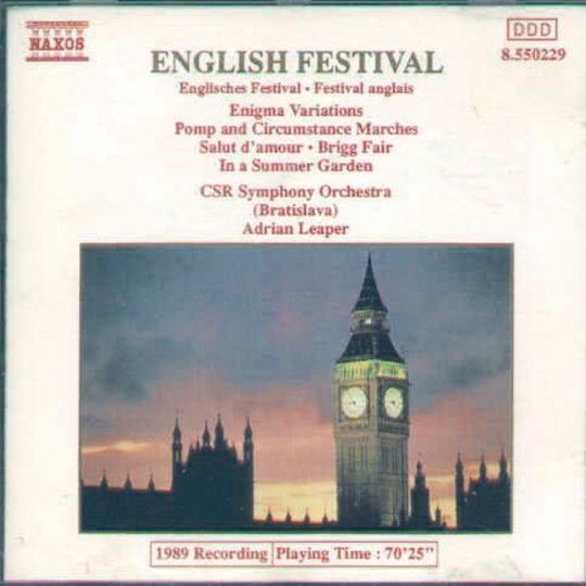 Englisches Festival CD