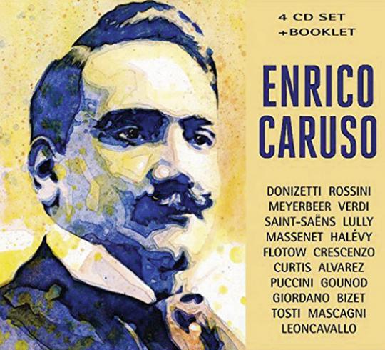 Enrico Caruso. 4 CDs.