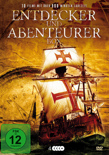 Entdecker- und Abenteurer-Box. 4 DVDs.