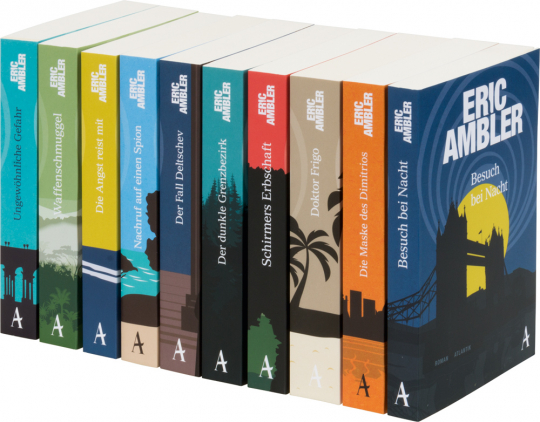 Eric Ambler Krimi Paket. 10 Bände.