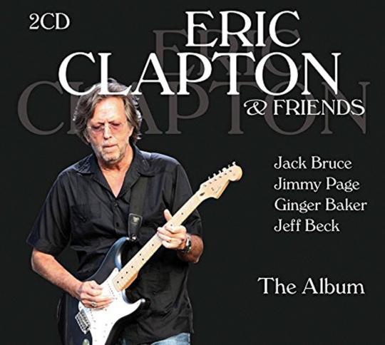Eric Clapton & Friends. The Album. 2 CDs.