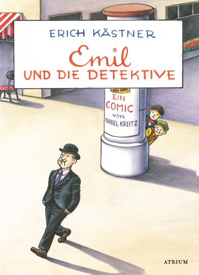 Erich Kästner. Emil und die Detektive. Comic.