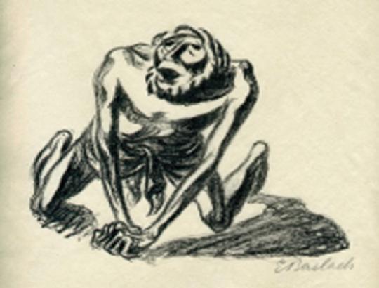 Ernst Barlach. Des Paria Gebet.