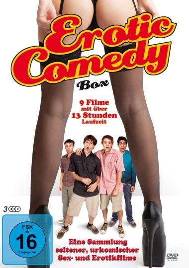 Erotic Comedy Box. 3 DVDs.
