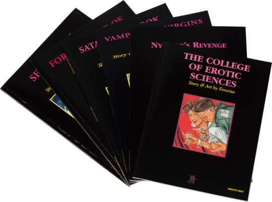 Erotic Comic Paket I. 6 Bände.