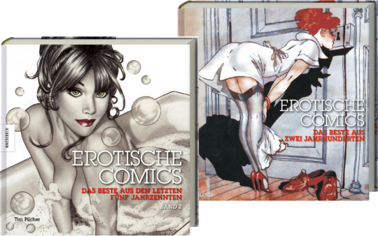 Erotische Comics. Band 1 & 2 im Set.